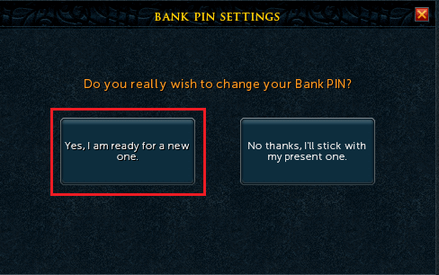 how to change my pin for td bank account
